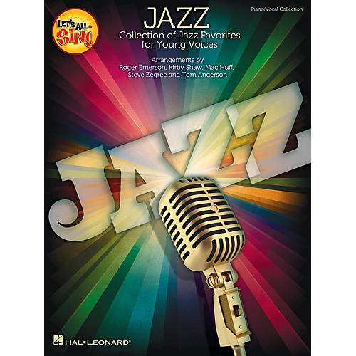 Hal Leonard Let's All Sing Jazz Performance/Accompaniment CD Arranged by Roger Emerson-thumbnail