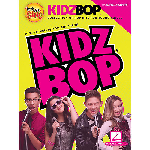 Hal Leonard Let's All Sing KIDZ BOP (Collection for Young Voices) Performance/Accompaniment CD by Tom Anderson-thumbnail