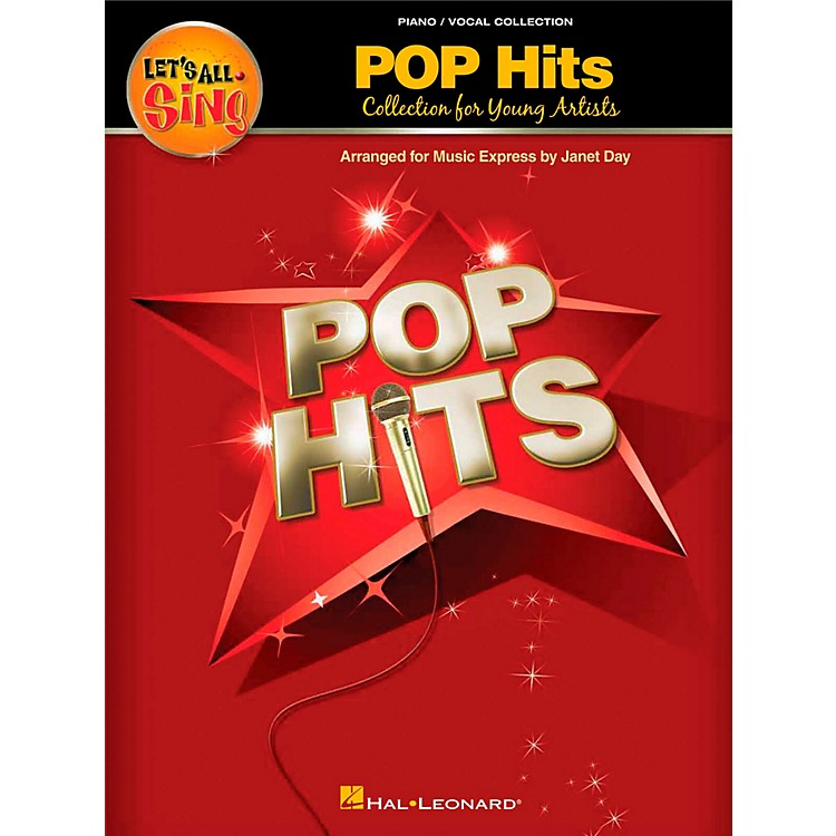 Hal LeonardLet's All Sing Pop Hits - Collection for Young Voices Performance/Accompaniment CD
