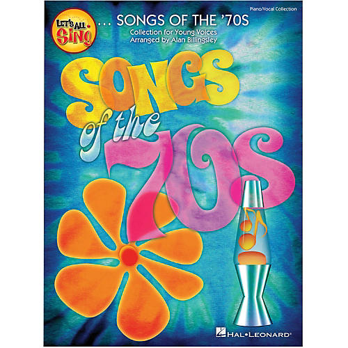 Hal Leonard Let's All Sing Songs Of The '70s Singer Edition 10-Pak