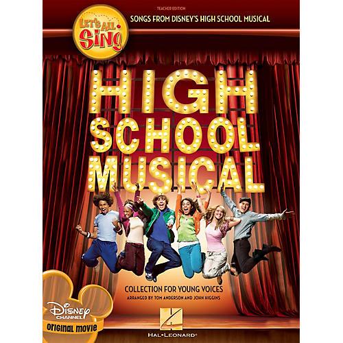 Hal Leonard Let's All Sing Songs from Disney's High School Musical Singer 10 Pak Arranged by John Higgins-thumbnail