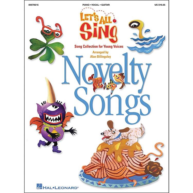 Hal LeonardLet's All Sing...Novelty SongsSinger Edition