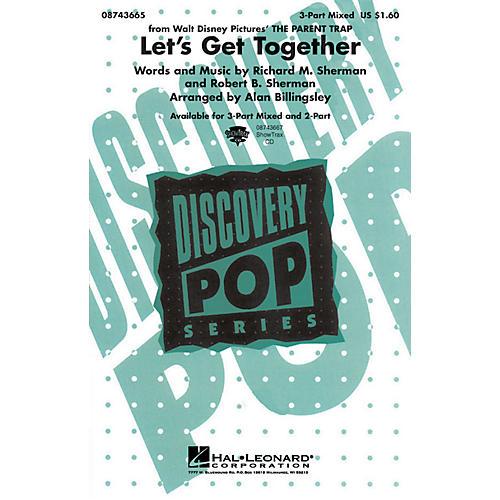 Hal Leonard Let's Get Together (from The Parent Trap) 2-Part Arranged by Alan Billingsley-thumbnail