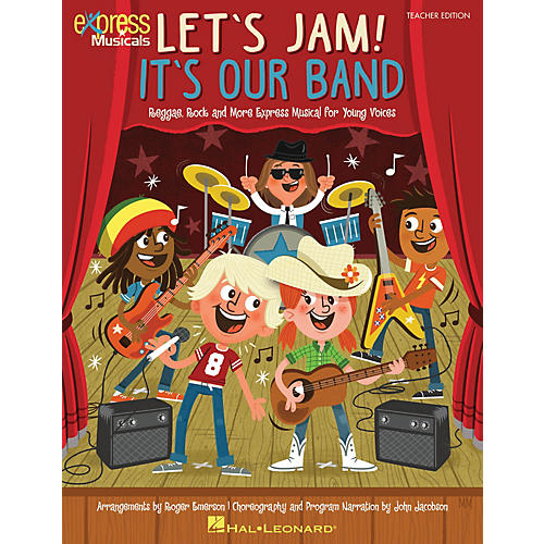 Hal Leonard Let's Jam! It's Our Band TEACHER ED Composed by Roger Emerson-thumbnail