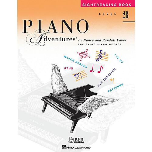 Faber Piano Adventures Level 2B - Sightreading Book Faber Piano Adventures® Series Book by Randall Faber-thumbnail