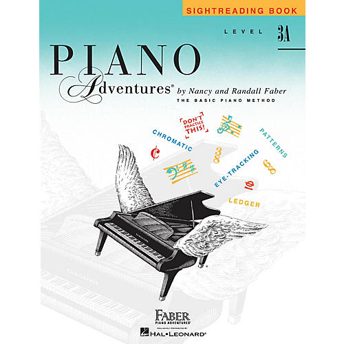 Faber Piano Adventures Level 3A - Sightreading Book (Piano Adventures) Faber Piano Adventures® Series by Randall Faber-thumbnail