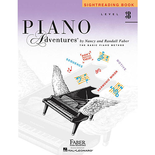 Faber Piano Adventures Level 3B - Sightreading Book Faber Piano Adventures® Series Book by Randall Faber-thumbnail