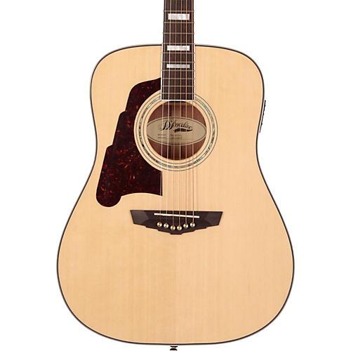 D'Angelico Lexington Dreadnought Left-Handed Acoustic-Electric Guitar-thumbnail