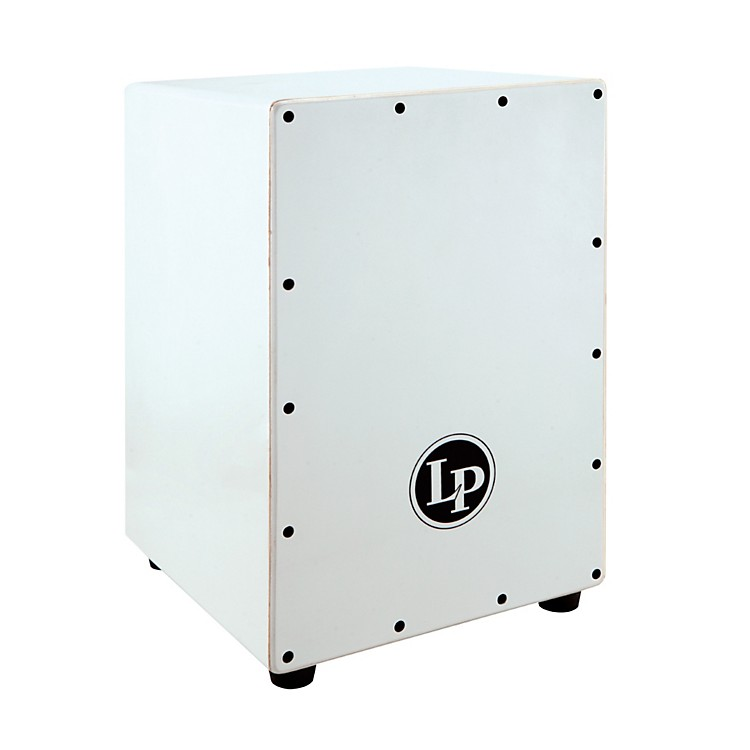 LP Lexus White Wood Cajon White Pearl