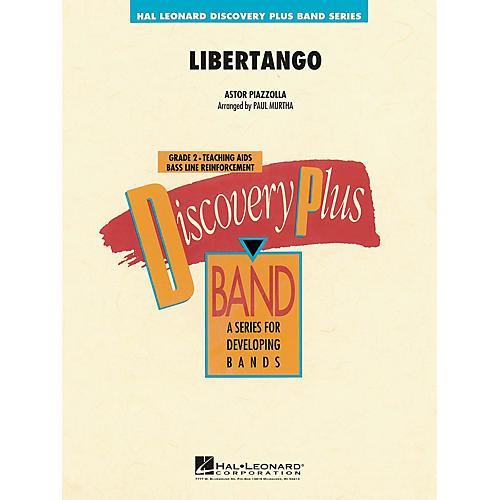 Hal Leonard Libertango - Discovery Plus Concert Band Series Level 2 arranged by Paul Murtha-thumbnail