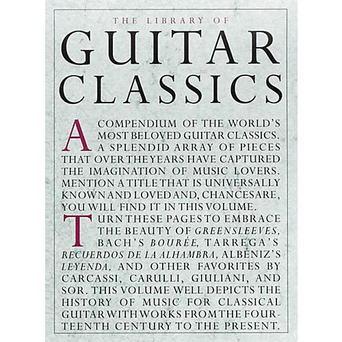 Music Sales Library Of Guitar Classics-thumbnail