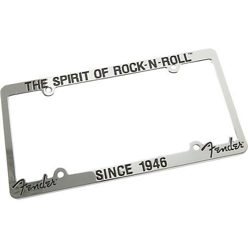 Fender License Plate Frame