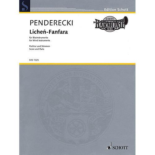 Schott Lichén-Fanfara (for Wind Instruments) Ensemble Series by Krzysztof Penderecki