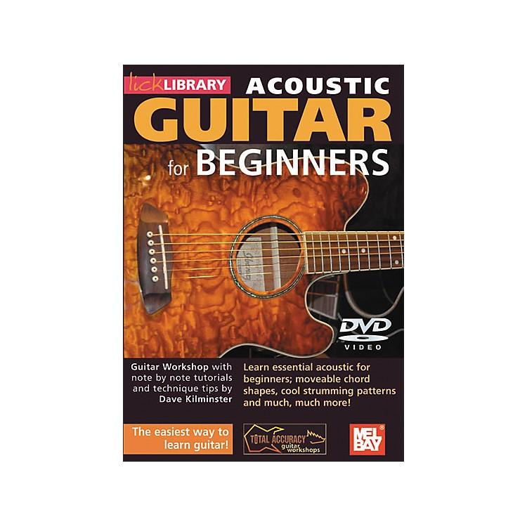 Hal LeonardLick Library Acoustic Guitar for Beginners DVD
