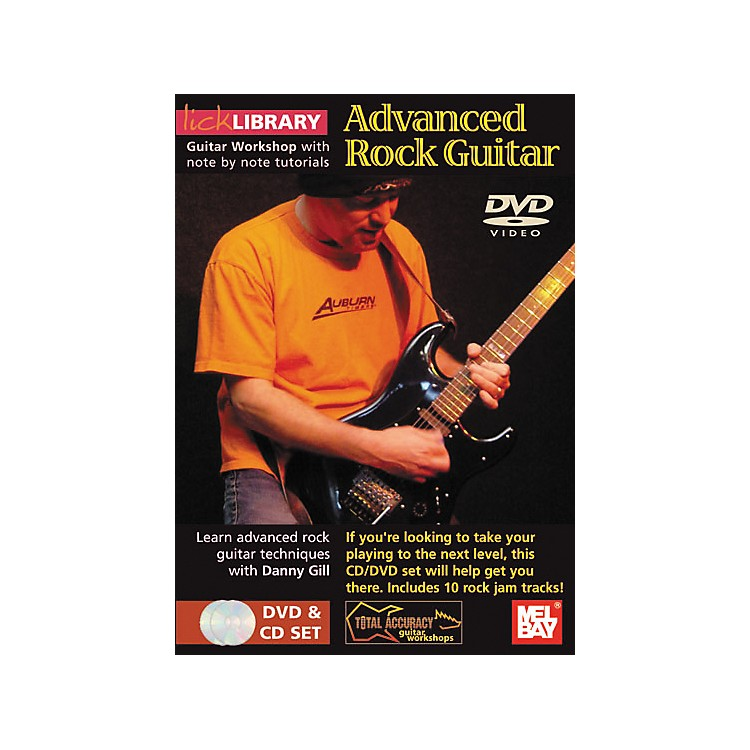Mel Bay Lick Library Advanced Rock Guitar DVD