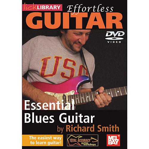 Mel Bay Lick Library Effortless Guitar - Blues Guitar Techniques DVD-thumbnail