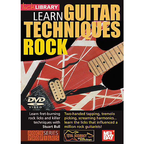 Mel Bay Lick Library Learn Guitar Techniques: Rock DVD