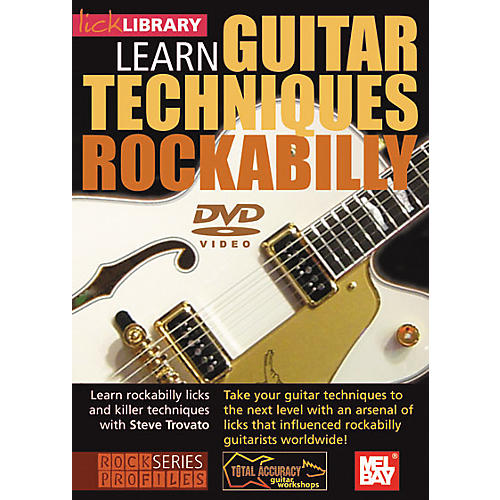 Hal Leonard Lick Library Learn Guitar Techniques: Rockabilly DVD