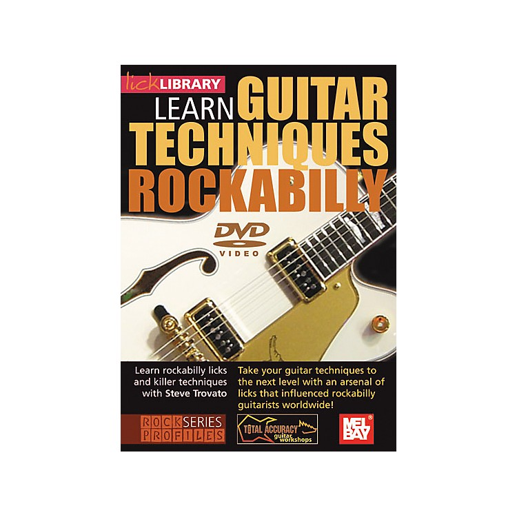 Hal LeonardLick Library Learn Guitar Techniques: Rockabilly DVD