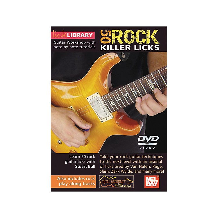 Hal Leonard Lick Library Learn To Play 50 Rock Killer Licks DVD