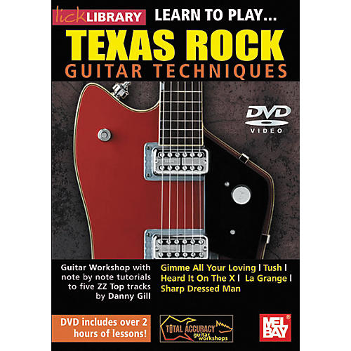 Mel Bay Lick Library: Learn to Play Texas Rock Techniques (DVD)-thumbnail