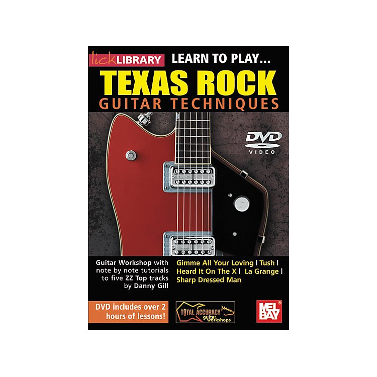 Hal Leonard Lick Library: Learn to Play Texas Rock Techniques (DVD)