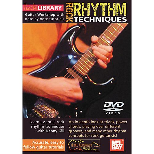 Mel Bay Lick Library Rock Rhythm Techniques DVD-thumbnail
