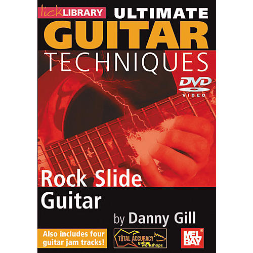 Mel Bay Lick Library Ultimate Guitar Techniques - Rock Slide Guitar DVD-thumbnail