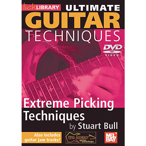 Mel Bay Lick Library Ultimate Guitar Techniques: Extreme Picking Techniques DVD