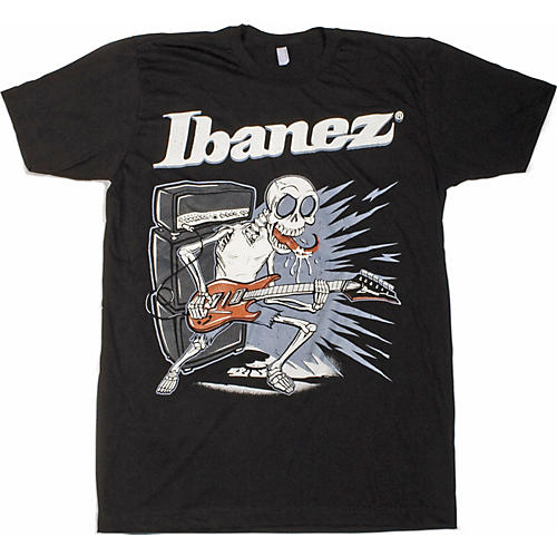 Ibanez Licking Skull T-Shirt