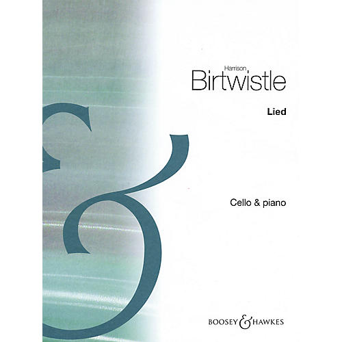 Boosey and Hawkes Lied (for Cello and Piano Score and Parts) Boosey & Hawkes Miscellaneous Series-thumbnail