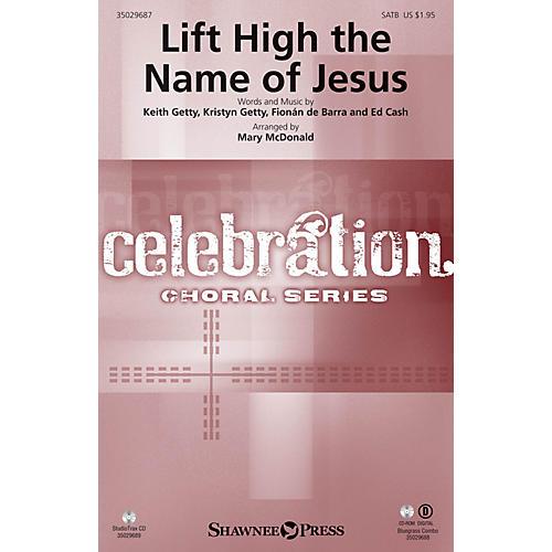 Shawnee Press Lift High the Name of Jesus Studiotrax CD Arranged by Mary McDonald-thumbnail