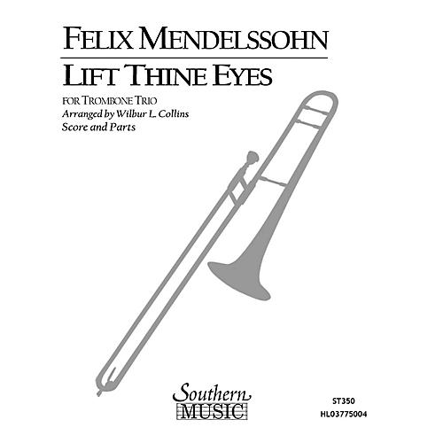 Southern Lift Thine Eyes (Trombone Trio) Southern Music Series Arranged by Wilbur Collins