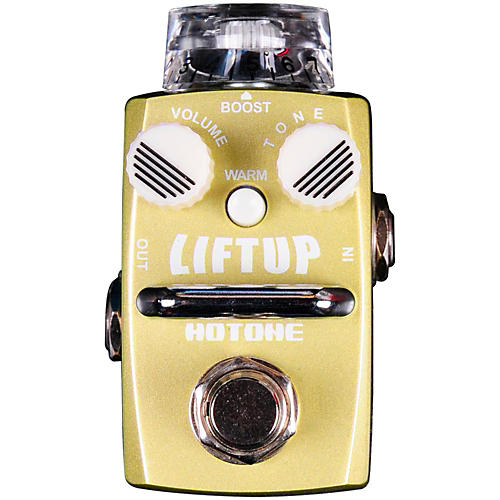 Hotone Effects Lift Up Clean Boost Skyline Series Guitar Effects Pedal
