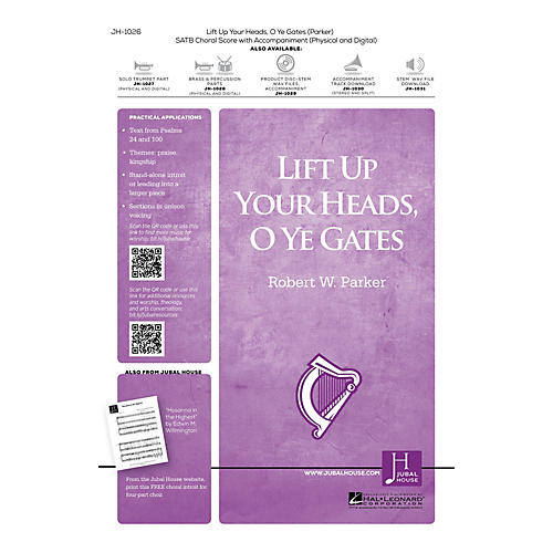 Jubal House Publications Lift Up Your Heads, O Ye Gates Accompaniment CD Composed by Robert W. Parker-thumbnail