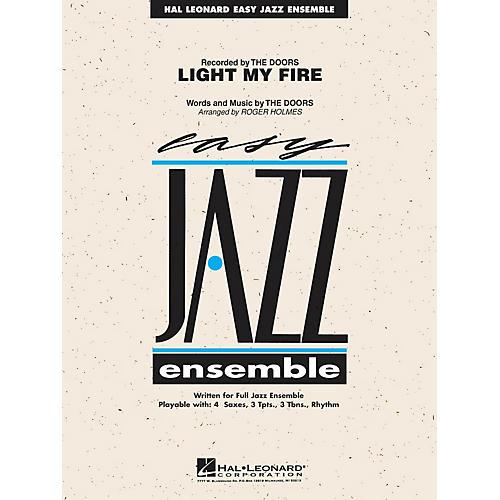 Hal Leonard Light My Fire Jazz Band Level 2 Arranged by Roger Holmes-thumbnail