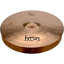Kasza Cymbals Light Top/Heavy Flat Bottom Skinny Fat Rock Hi-hats 14 in.
