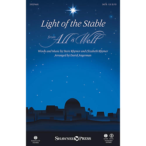 Shawnee Press Light of the Stable ORCHESTRA ACCOMPANIMENT Arranged by David Angerman-thumbnail