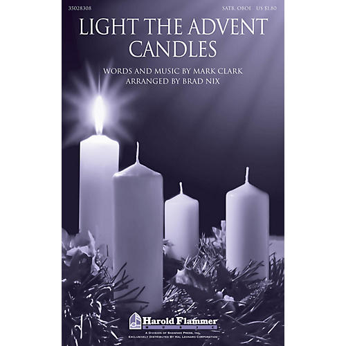 Shawnee Press Light the Advent Candles SATB AND OBOE arranged by Brad Nix-thumbnail