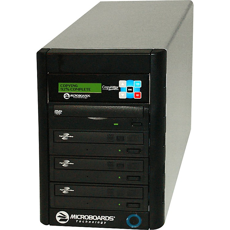 Microboards LightScribe DVD/CD Premium PRO 1 to 3 Duplicator