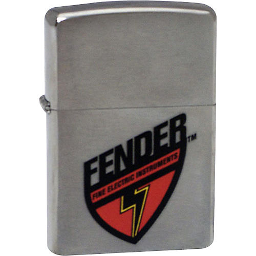 Fender Lighter, Fender Shield Zippo-thumbnail