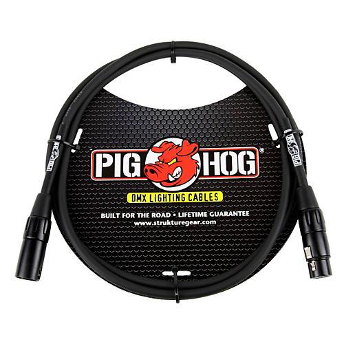 Pig Hog Lighting Cable DMX 3-pin (10 ft.) 5 ft.
