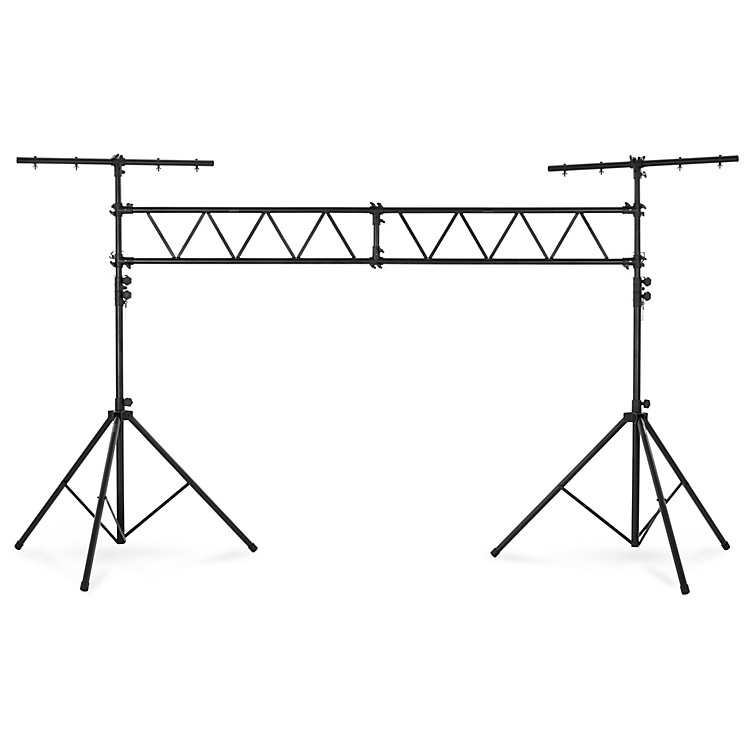 Musician's Gear Lighting Stand with Truss Black