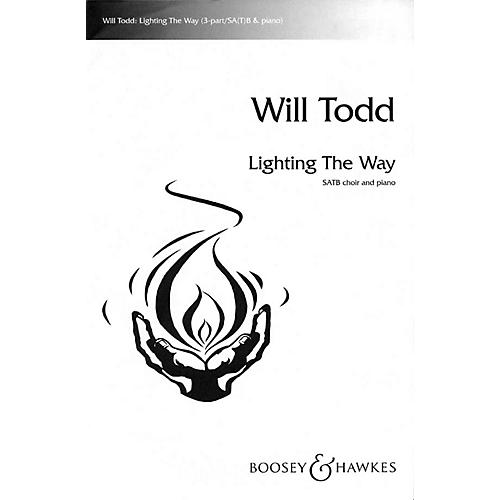 Boosey and Hawkes Lighting the Way SATB composed by Will Todd-thumbnail