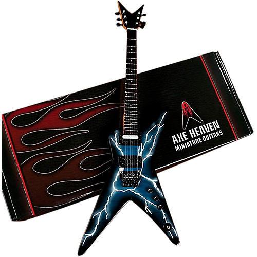 Axe Heaven Lightning Bolt Signature Model Miniature Guitar Replica Collectible-thumbnail