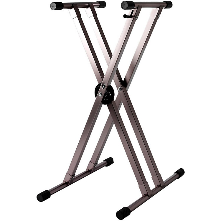 Strukture Lightweight Aluminum Keyboard Stand Anodized Blue