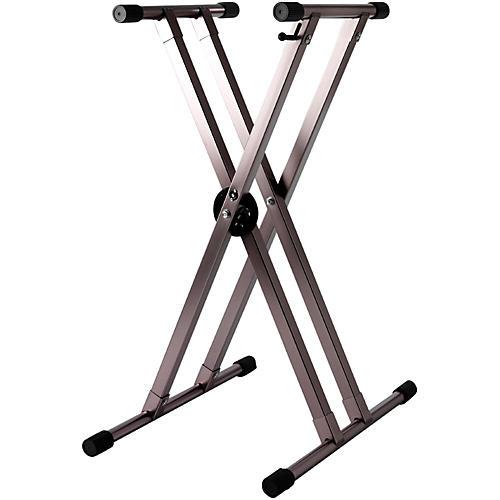 Strukture Lightweight Aluminum Keyboard Stand Regular Anodized Titanium Grey