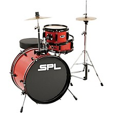 Sound Percussion Labs Lil Kicker - 3-Piece Jr. Drum Set Red