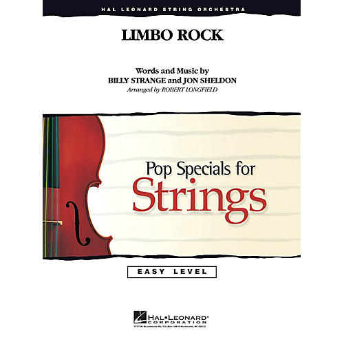 Hal Leonard Limbo Rock Easy Pop Specials For Strings Series by Chubby Checker Arranged by Robert Longfield-thumbnail