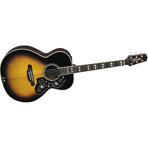 Takamine Limited 2009 Grand Auditorium Acoustic-Electric Guitar